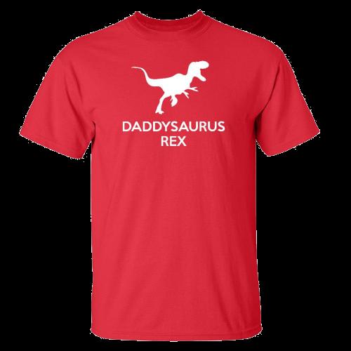 Daddysaurus Rex Adult T-Shirt